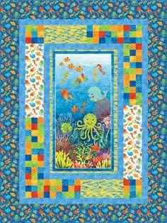 Stonehenge Undersea Adventure By Linda Ludovico for Northcott