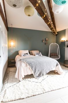 Home Interior Living Room .Home Interior Living Room Home Decor Bedroom, Home Bedroom, Cheap Home Decor, Bedroom Design, Paint Colors For Living Room, Living Spaces, Trendy Home, Bedroom Color Schemes, Bedroom Colors