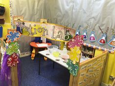 Potions lab role play