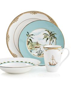 Lenox British Colonial Dinnerware Collection - Fine China - Dining & Entertaining - Macys