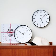 IDEE TIMING 掛け時計 Arabia: ¥7,020 Clock, Interior, Wall, Shopping, Home Decor, Watch, Decoration Home, Indoor, Room Decor