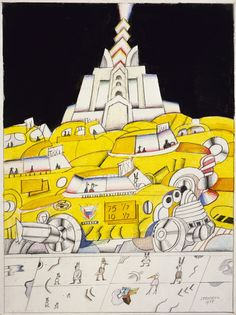 """Pace Gallery - """"100th Anniversary Exhibition"""" - Saul Steinberg"""