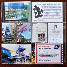 Disneyland Hotel & Mickey Gifts - Scrapbook.com