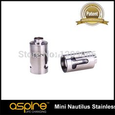 Original aspire Mini nautilus Replacement Tank for Aspire Nautilus Mini airflow control Tank System Mini Nautilus Steel Tube  1.Electronic atomizer reduces smoking frequency and produce no harm to secondhand smoke2.No lighting needed and no fire hazard exist and it can be used in most public place3.A good gift for  #Vape http://www.vaporgasme.com/produk/original-aspire-mini-nautilus-replacement-tank-for-aspire-nautilus-mini-airflow-control-tank-system-mini-nautilu