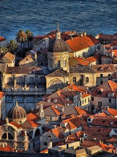 Dubrovnik is an amazingly intact walled city on the Adriatic Sea coast in the south of Croatia. Discover the best attractions and things to do in Dubrovnik. Beautiful Places In The World, Places Around The World, Travel Around The World, Wonderful Places, Great Places, Oh The Places You'll Go, Places To Travel, Places To Visit, Travel Destinations