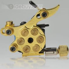 Golden Bullet Carbon Alloys Tattoo Machine for Liner Shader