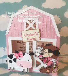 Minnie Mouse Western Farm / invitaciones de por CreativeMoments4You