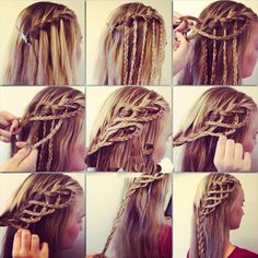 easy hairstyles to do at home step by step - Google Search