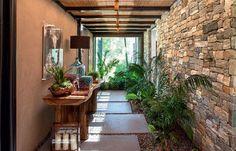 Perfect hallway / o hall perfeito Casa.com.br