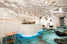 Portago Urban by Ilmiodesign in #Granada, a brand new hotel with a suggestive message.  #hotels