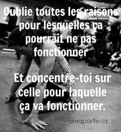 Concentre-toi #amaporte