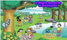 Resultado de imagen para imagenes para describir para niños