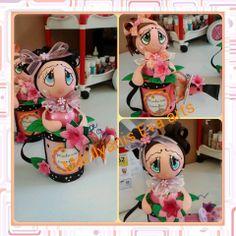 Regadera fofucha handmade by Marilyanis Eva Arts