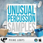 Unusual Percussion Samples loads your sample archive with over 200 individual samples, each recorded through top-of-the-range mics and professionally mastered at a crisp and clean 24-bit High Definition sample rate. http://www.producerspot.com/unusual-percussion-samples-and-loops-by-prime-loops