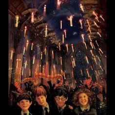 Hogwarts Great Hall Philosopher's Stone