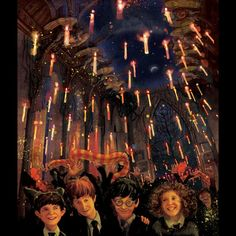 Hogwarts Great Hall Philosopher's Stone