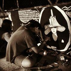 Serrupa mural..