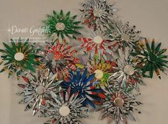 pop can craft ideas | POP CAN FLOWERS | Craft Ideas
