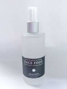 Graydon Face Food Mineral Mist • chidibeauty.com | Looking for a natural, toxin-free toner? Need more ways to add magnesium, copper and silver into your skincare routine? Click through to read more about one of the best toners for your skin.