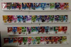 Complete set Amiibo Stands/ Wall Display/ Mount . by MorsbaneGoods