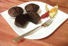 Olvadós belsejű brownie muffin Muffin, Paleo, Pudding, Sweets, Beef, Cookies, Desserts, Recipes, Food