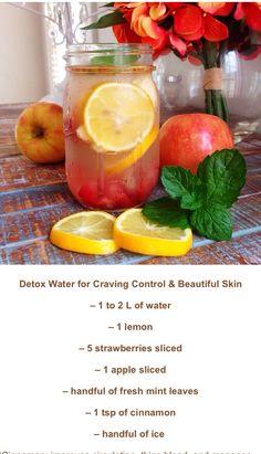 Clear skin detox