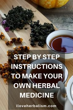 It's rewarding to make your own medicines. Follow these step-by-step instructions to ensure you achieve the best results.