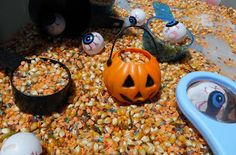 Adventures at home with Mum: Halloween Sensory Tubs