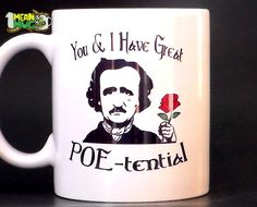a valentine edgar allan poe literary devices