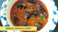 Brinjal Masala Curry - Gutti Vankaya Kura - Baingan Masala Recipe - Eggp...