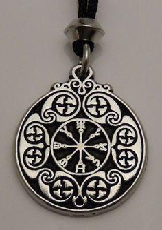 Defense SIGIL Pendant Necklace - ANGEL Magick Protection - Magickal Ciphers Amulet