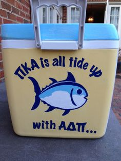 (Insert frat here) is all tide up with GDS Fraternity Formal, Fraternity Coolers, Frat Coolers, Cooler Connection, Bubba Keg, Sorority Life, Sorority Canvas, Sorority Paddles, Sorority Recruitment