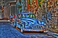 There's something about Cuba, and there's something about old vintage cars.