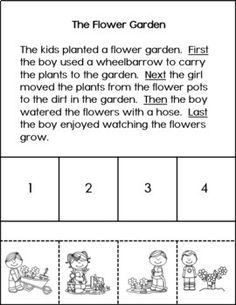 Four Seasons Sequencing Stories - 80 Four-Step Stories