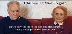Mme Frégnac nous raconte son quotidien de fille d'enseignants durant la guerre.http://www.labaraquetv.fr/