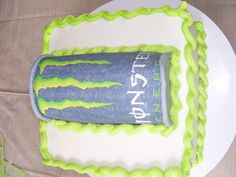 Monster Energy Drink cakeityourwaync.com