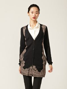 Buy 'JVL – Shirred-Sleeve Lace-Overlay Jacket' with Free Shipping ...
