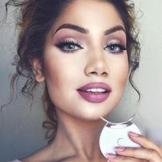 Makeup by Alinna || mauve eye and lip