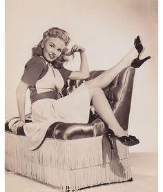 style icon, janet blair, 1940's fashion