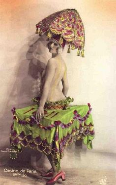 Mlle Jo - French postcard