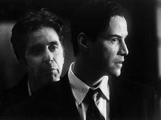 """Al Pacino e Keanu Reeves em  O ADVOGADO DO DIABO (The Devil's Advocate). 1-""""Vaidade é meu pecado favorito."""""""