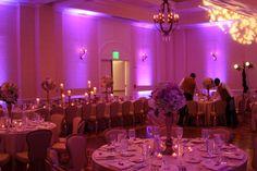 Pink Event Lighting