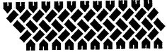 Tire track room border stencils - WOOT