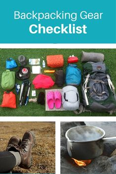 Download your free backpacking gear checklist to make sure you don't forget anything on your next backpacking trip. This is a complete list of everything I carried with me hiking over 1,200 miles on the Appalachian Trail. #hiking #backpacking #gear #appal