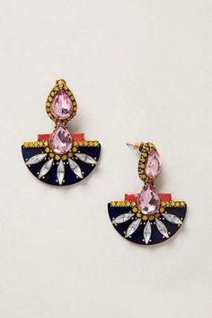 { Etruscan Petal Earrings }
