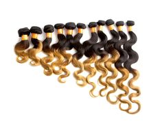 3 Bundles Body Wave Indian Ombre Hair Unprocessed Hair Extension Hair Wefts #wigiss #HairExtension