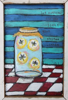 Jenni Horne Studios: Fireflies and Love