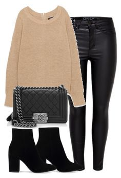 """""""Untitled #2661"""" by theeuropeancloset ❤ liked on Polyvore featuring Gianvito Rossi and Chanel"""