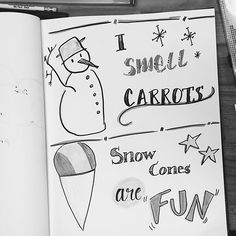Hoping for snow please! There are so many ways to have snow-specific fun! (lovely letters by @seeincolors) #ssletters #acreativedc #madeatcatylator #lettering #handlettering #dtss #silverspring