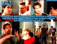 I never cared for Riley but he really did love Buffy